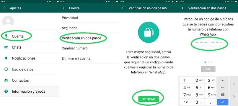usa texnow para verificar whatsapp
