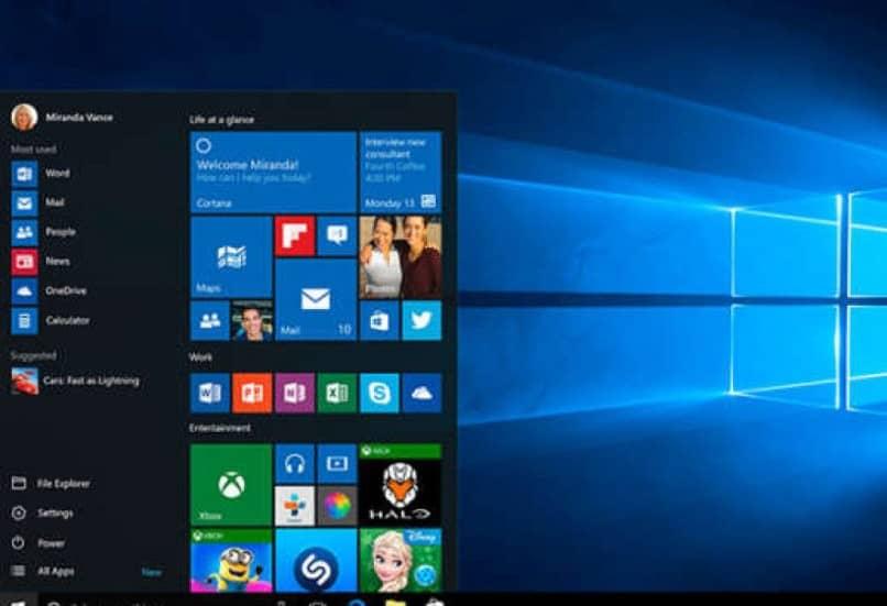 aplicaciones de escritorio en Windows 10