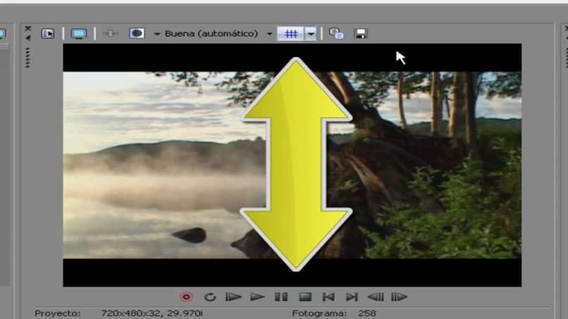 líneas negras en los videos que reproduces