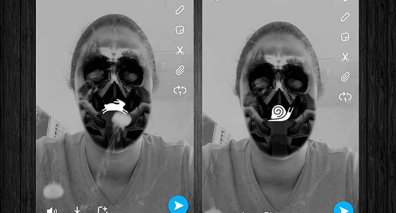 Cambio de voz en Snapchat