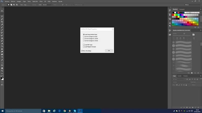 abra una extensión de archivo DDS en su computadora