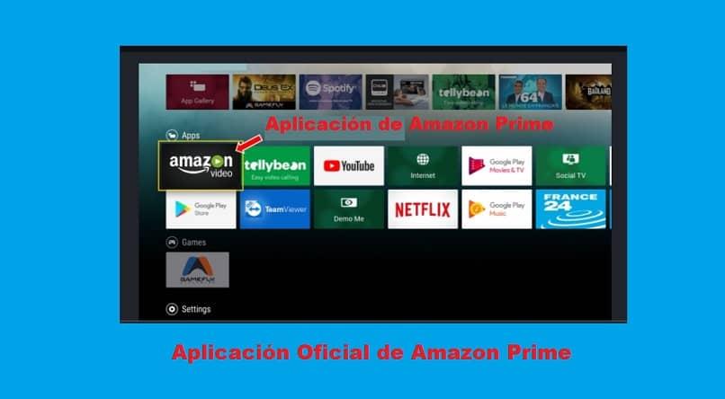 Descarga Amazon Prime Video en un televisor inteligente