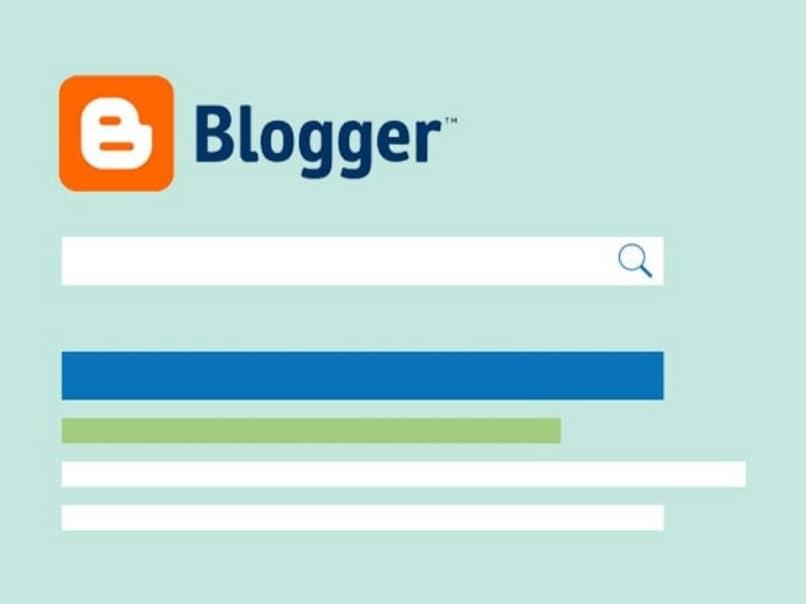 interfaz de blogger