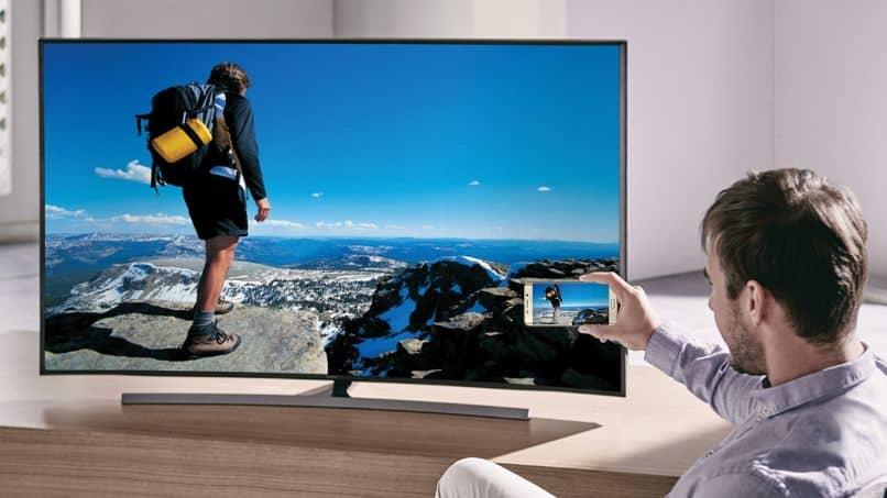 conectar tv samsung