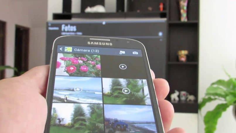conectar el teléfono móvil samsung tv