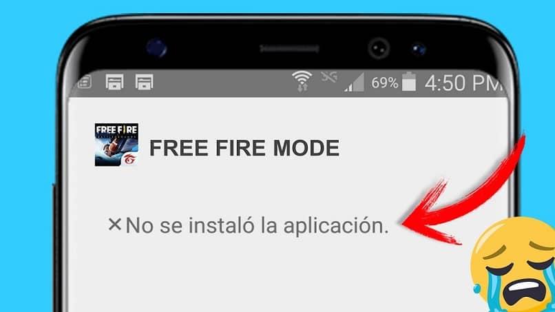 La aplicación no se pudo descargar