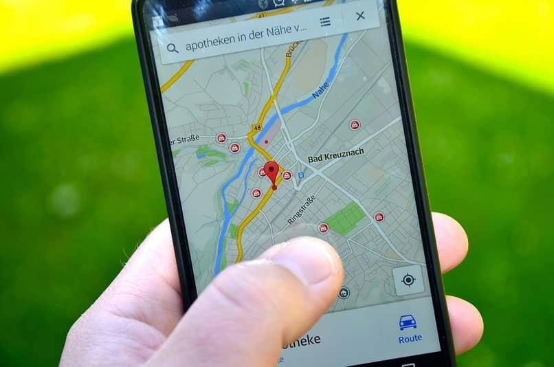 búsqueda de sitios de google maps