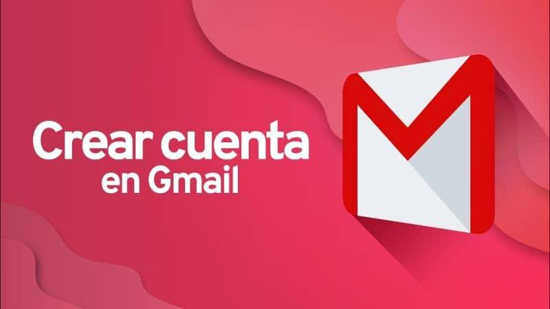 Fondo rojo de correo de Gmail