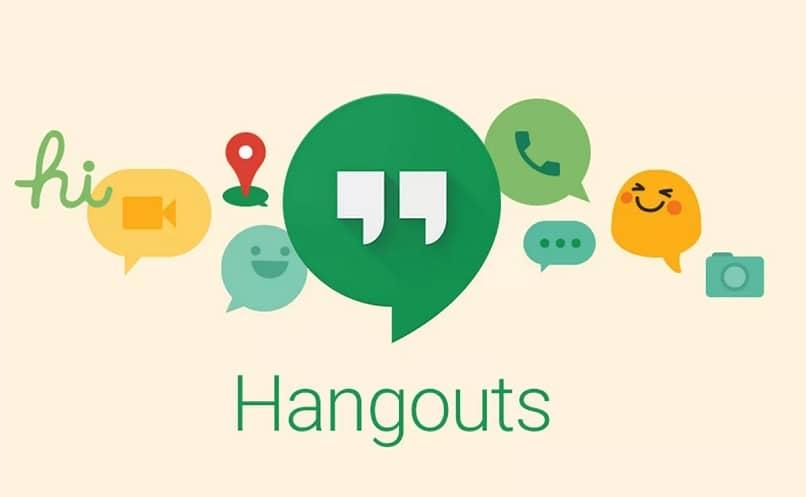 conversaciones llamadas hangouts ubicación