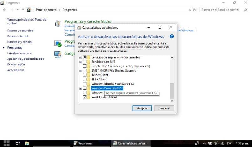 Los programas de Windows desinstalan la carpeta
