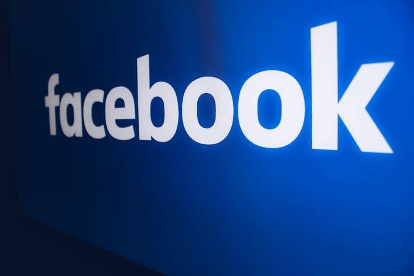 fondo azul logo facebook