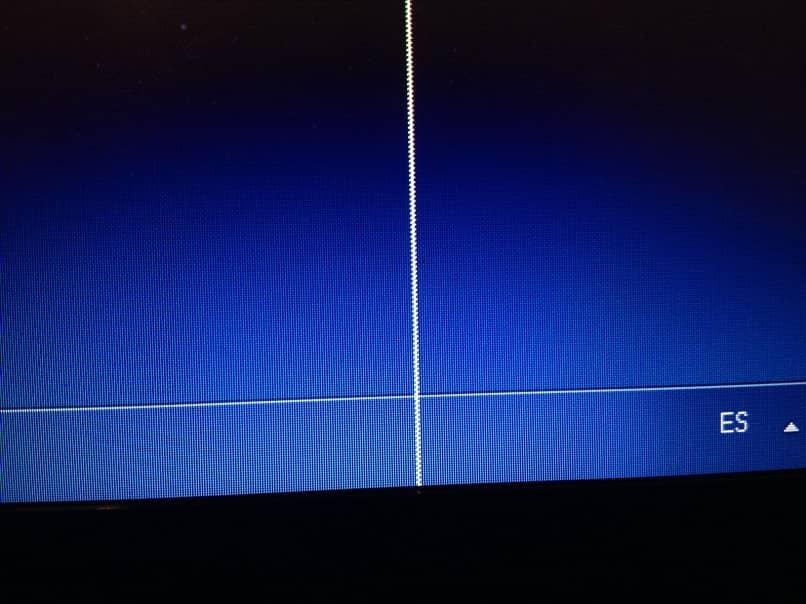 línea vertical horizontal portátil