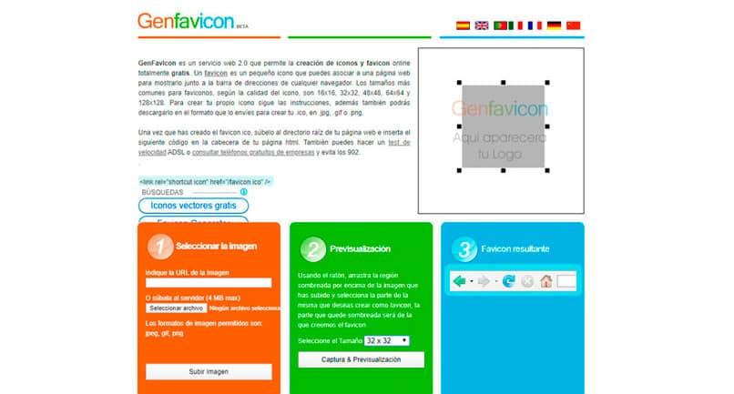 Agregar Favicon Blogger