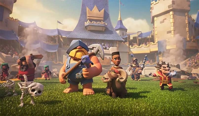 arena oficial clash royale