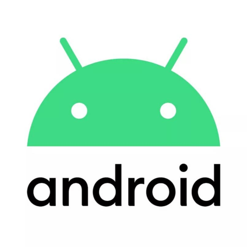 Icono de móvil Android