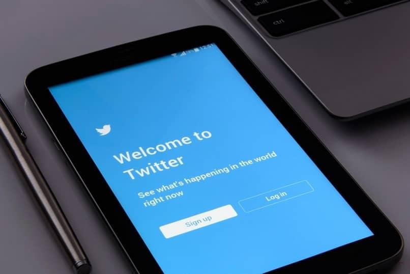 entrar en la aplicación de twitter