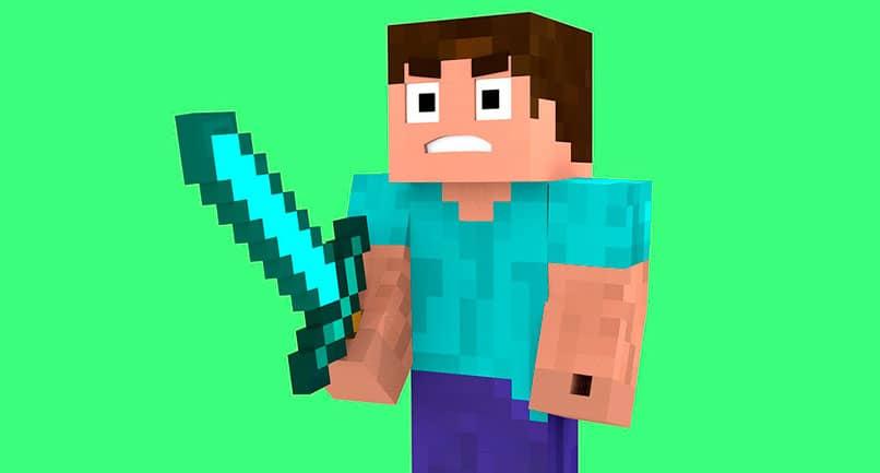 Los personajes principales de Minecraft Steve