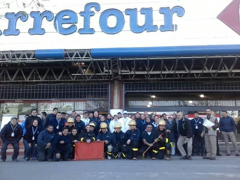 Trabajadores de Carrefour