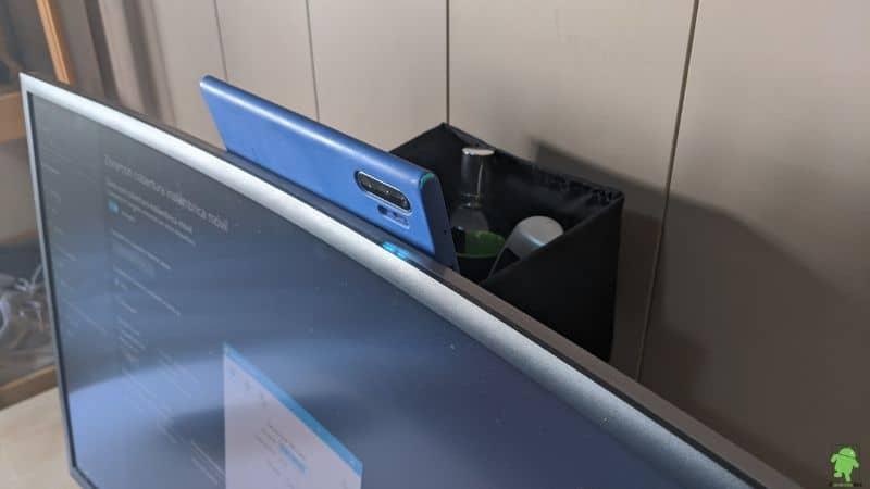 Teléfono móvil como webcam