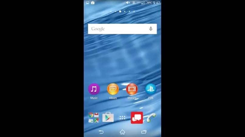 Iconos de aplicaciones telefónicas