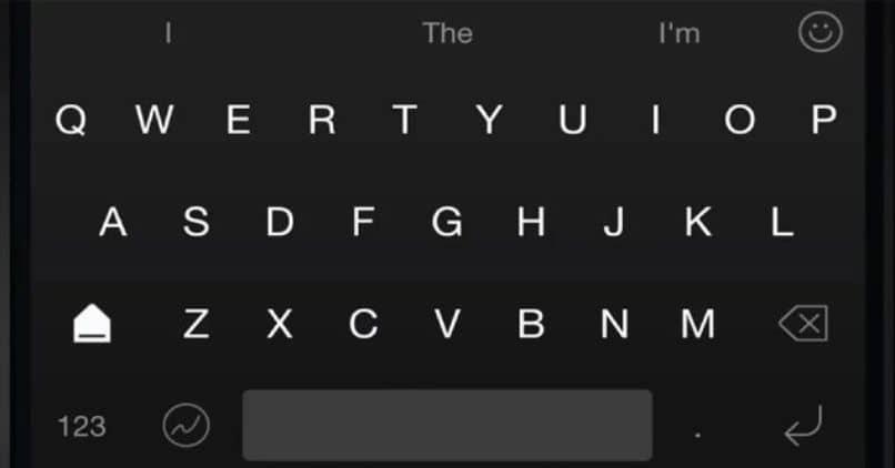 teclado especial de Android