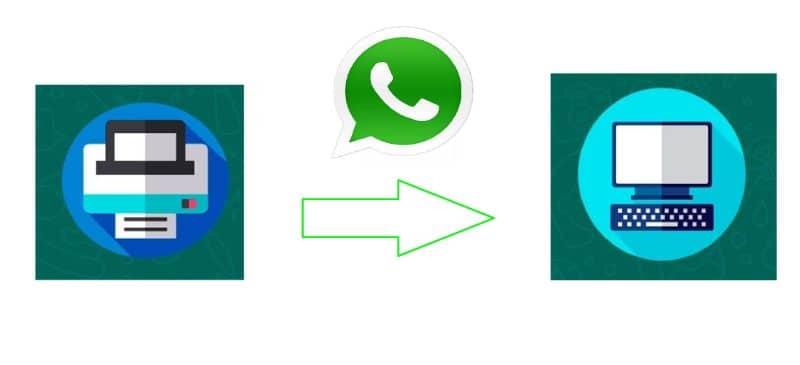 imprimir mensajes de WhatsApp