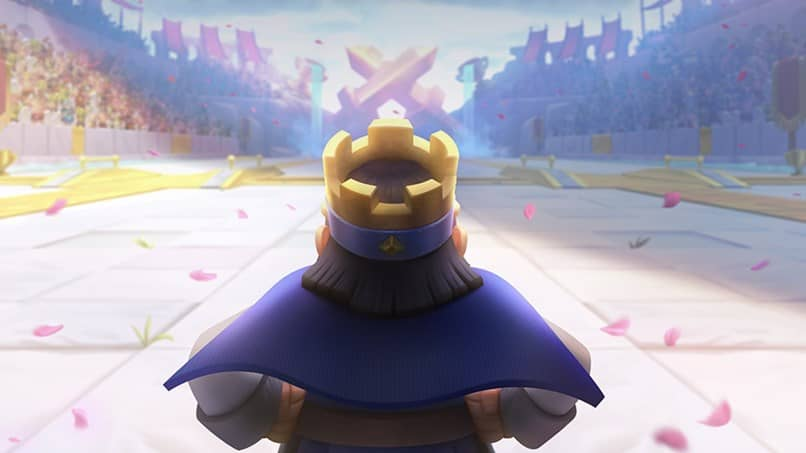 rey capa azul clash royale