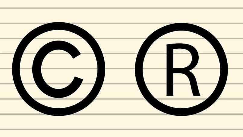 símbolo de copia negro