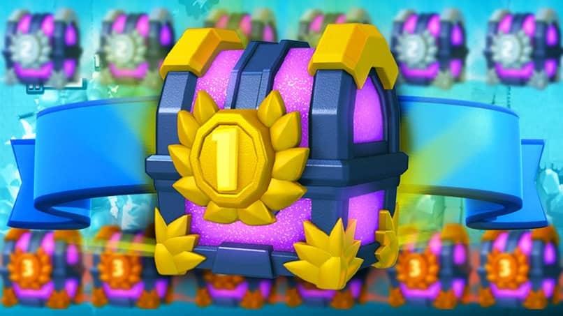 cofre de oro clash royale