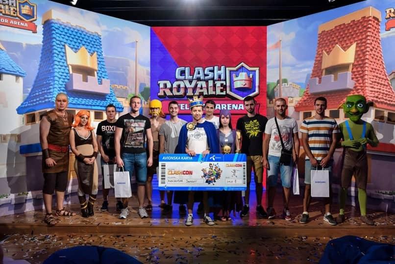 jugadores del torneo clash royale