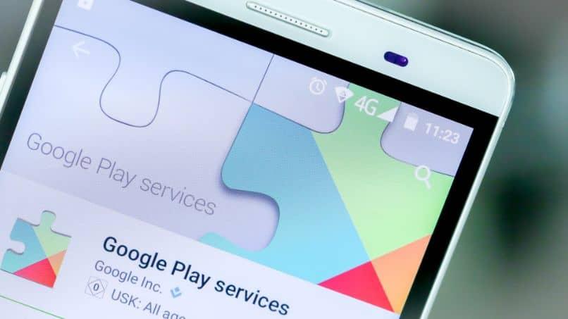 servicio de google play