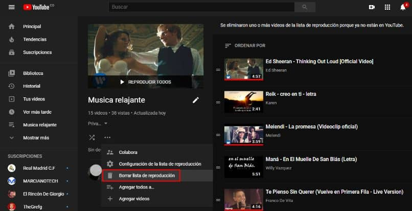 inicio youtube video ed sheeran
