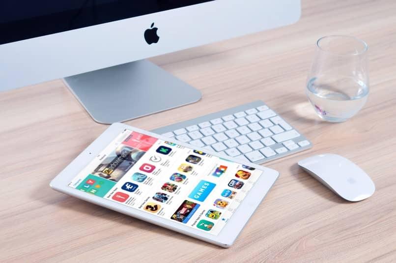 teclado de computadora ipad