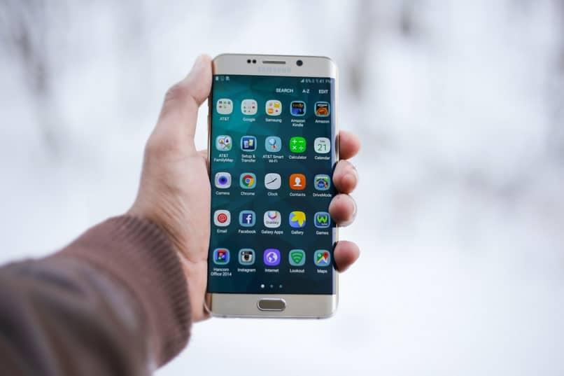 aplicaciones móviles de mano