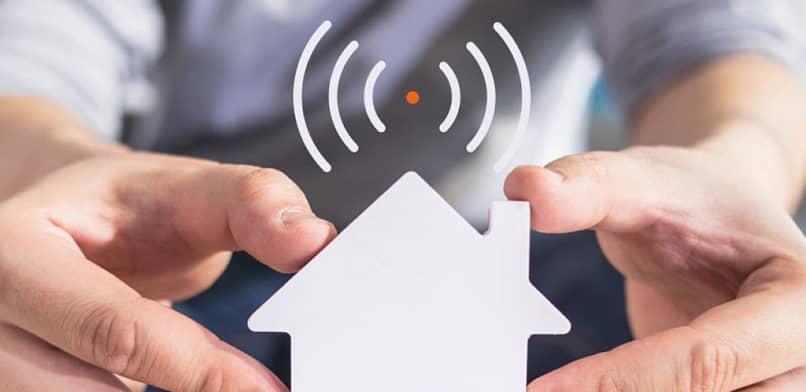 wifi en casa con buena señal de conexión