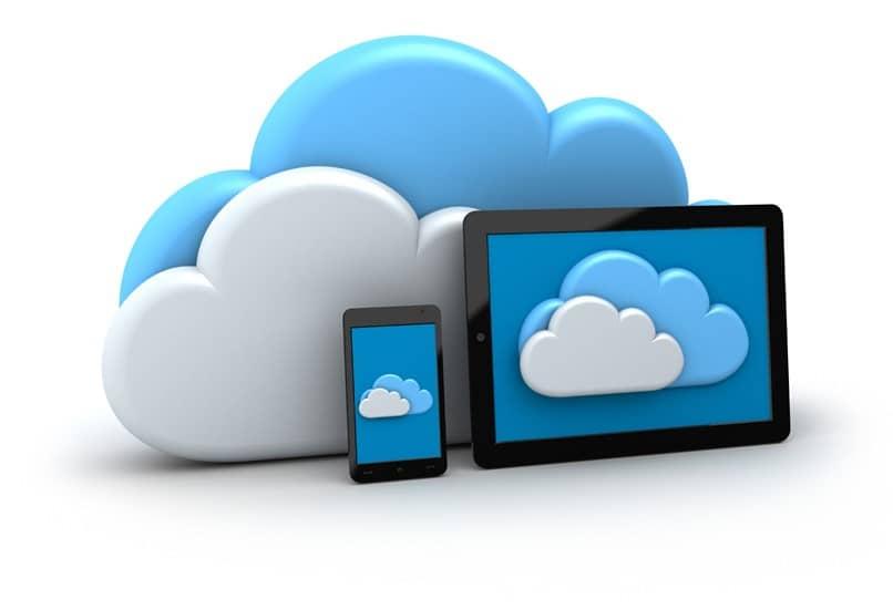 computadora de almacenamiento en la nube