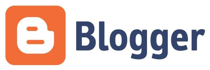 Vector logo de blogger