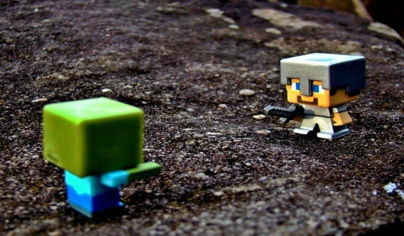 duelo en minecraft