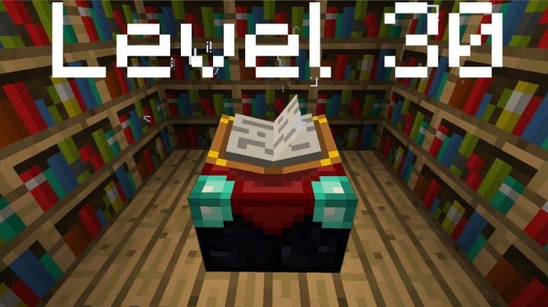 Nivel 30 Minecraft