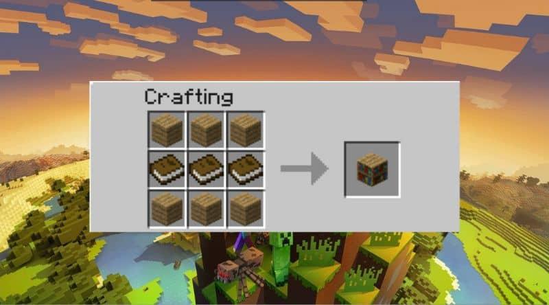 Utilidades de creación de bibliotecas y Minecraft