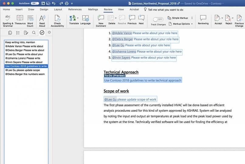 edición de texto de palabras