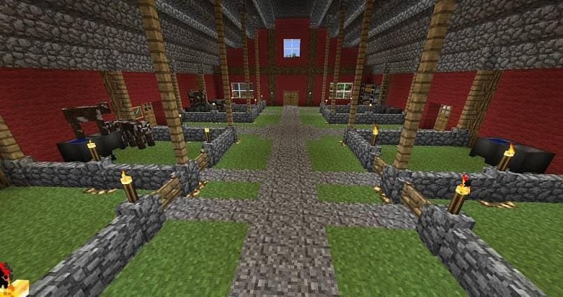 granja de minecraft