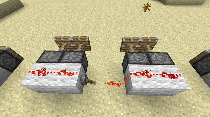 pistones genuinos de minecraft
