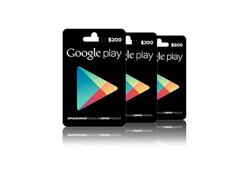 Compre una tarjeta de regalo a través de la aplicación Google Play Store para usarla en otro país