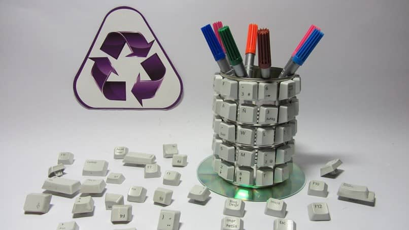 reciclar piezas de computadora