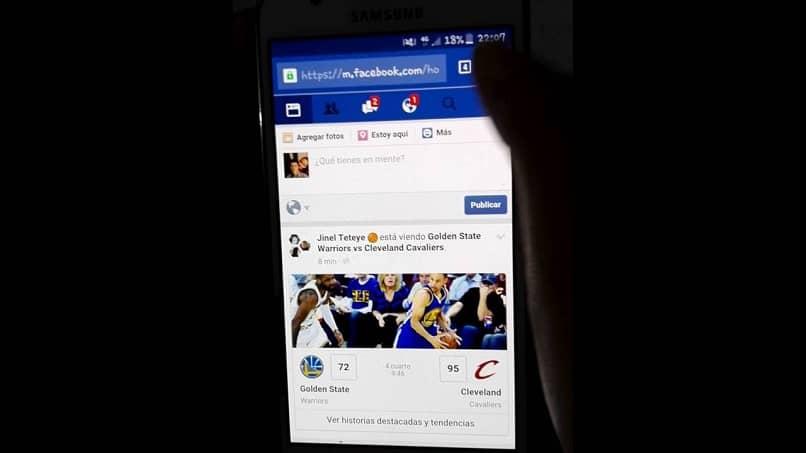 cambiar la información del perfil de facebok