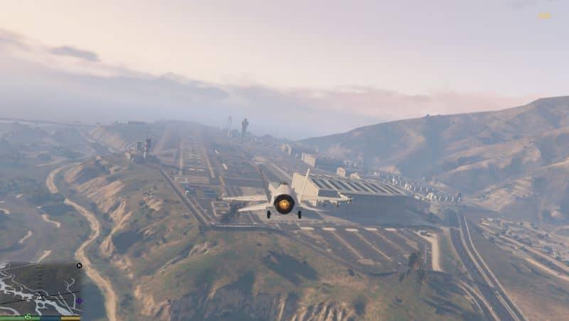 Base militar de GTA V