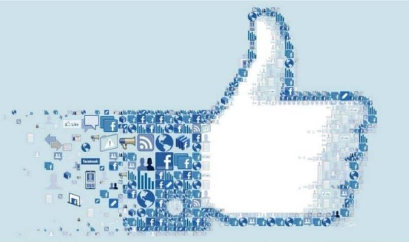 icono como facebook degradado