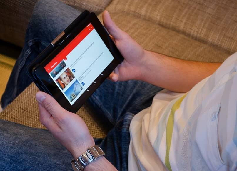 youtube en el dispositivo móvil