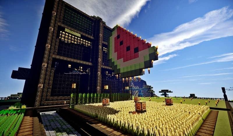 Construye una granja en Minecraft